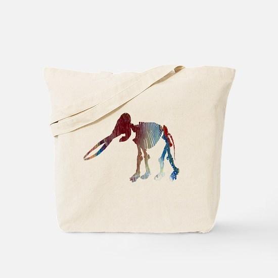 Mastodon Skeleton Tote Bag
