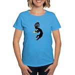 Kokopelli Trombone Women's Dark T-Shirt