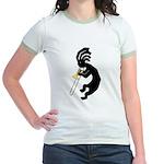 Kokopelli Trombone Jr. Ringer T-Shirt