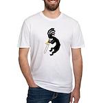 Kokopelli Trombone Fitted T-Shirt