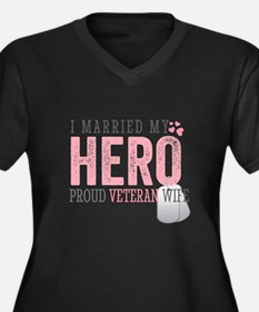 I Married my Hero Plus Size T-Shirt