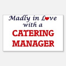 Madly in love with a Catering Manager Decal