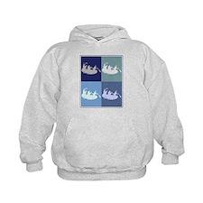 White Water Rafting (blue box Hoodie