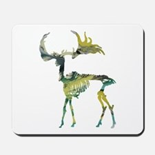 Elk Skeleton Mousepad