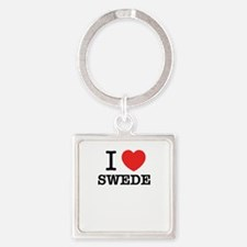 I Love SWEDE Keychains