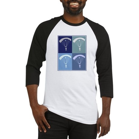 Skydiving (blue boxes) Baseball Jersey