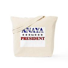 ANAYA for president Tote Bag