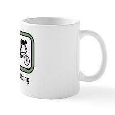 Eat, Sleep, Mountain Biking Mug