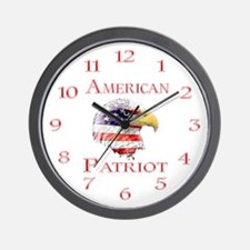 American Patriot Wall Clock