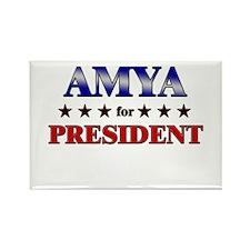 AMYA for president Rectangle Magnet