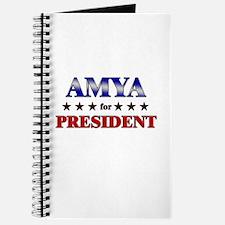 AMYA for president Journal