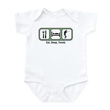 Eat, Sleep, Mens Tennis  Infant Bodysuit