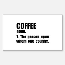Coffee Definition Decal