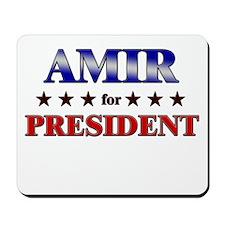 AMIR for president Mousepad