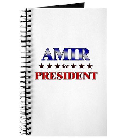 AMIR for president Journal