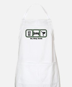 Eat, Sleep, Karate BBQ Apron