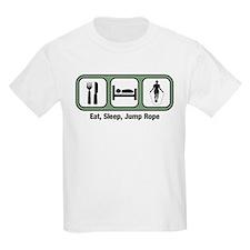 Eat, Sleep, Jump Rope T-Shirt