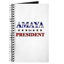 AMAYA for president Journal
