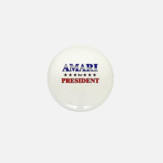 AMARI for president Mini Button