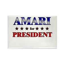 AMARI for president Rectangle Magnet