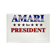 AMARI for president Rectangle Magnet (10 pack)