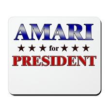 AMARI for president Mousepad