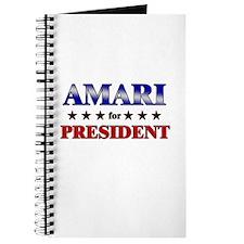 AMARI for president Journal