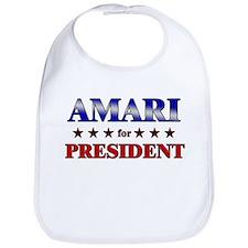 AMARI for president Bib