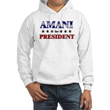 AMANI for president Hoodie