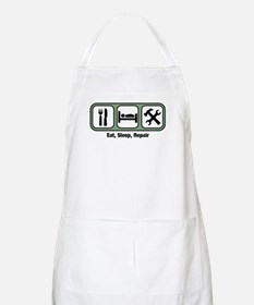 Eat, Sleep, Handyman BBQ Apron