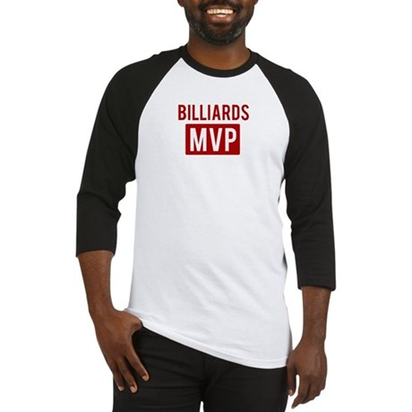 Billiards MVP Baseball Jersey