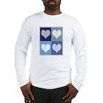 Love (blue boxes) Long Sleeve T-Shirt