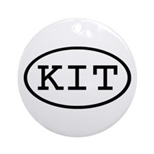 KIT Oval Ornament (Round)