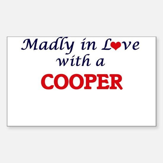 Madly in love with a Cooper Decal