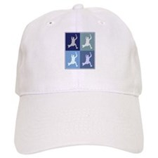 Long Jump (blue boxes) Baseball Cap