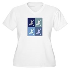 Long Jump (blue boxes) T-Shirt