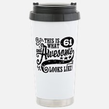 Cute Happy sixty fifth birthday Travel Mug