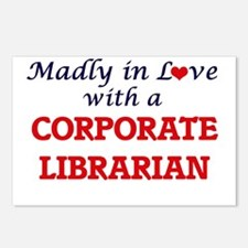 Madly in love with a Corp Postcards (Package of 8)