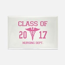 Class Of 2017 Nursing Dept Rectangle Magnet