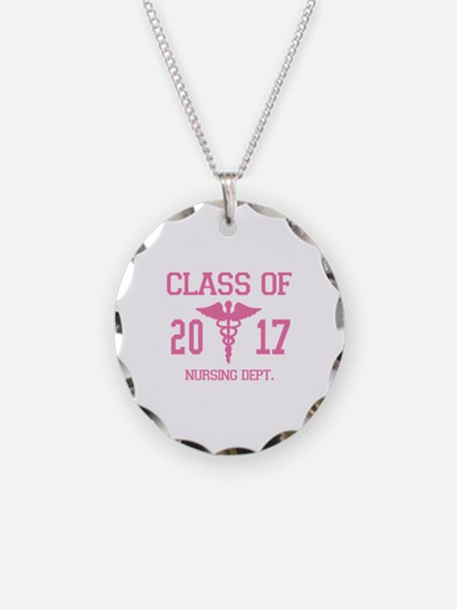 Class Of 2017 Nursing Dept Necklace