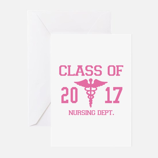 Class Of 2017 Nursing Dept Greeting Cards (Pk of 1