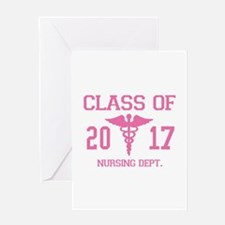 Class Of 2017 Nursing Dept Greeting Card