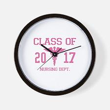 Class Of 2017 Nursing Dept Wall Clock