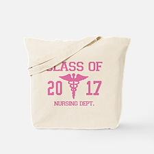 Class Of 2017 Nursing Dept Tote Bag