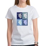 Inline Skating (blue boxes) Women's T-Shirt