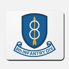 8th Infantry Division<BR> Mousepad