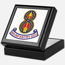 8th Infantry Division<BR> Keepsake Box 2