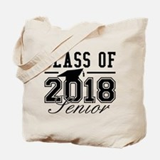 Class Of 2018 Senior Tote Bag
