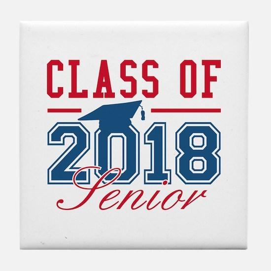 Class Of 2018 Senior Tile Coaster