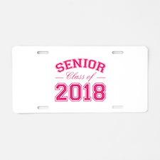 Class Of 2018 Senior Aluminum License Plate